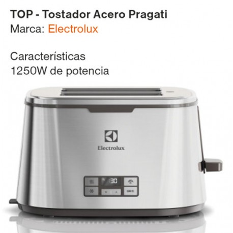 TOP - TOSTADOR ACERO PRAGATI