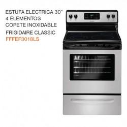 "ESTUFA ELECTRICA 30"" 4 ELEMENTOS FFFEF3018LS"