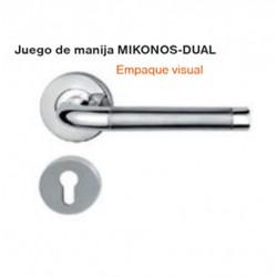 JUEGO DE MANIJA MIKONOS- DUAL