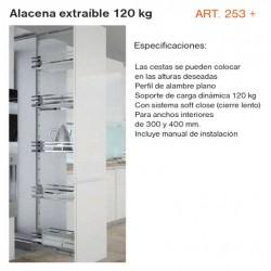 ALACENA EXTRAIBLE 120 KG