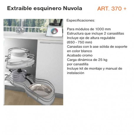 EXTRAIBLE ESQUINERO NUVOLA