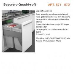 BASURERO QUADRI - SOFT