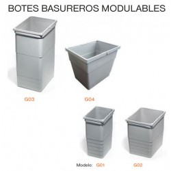 BOTES BASUREROS MODULABLES