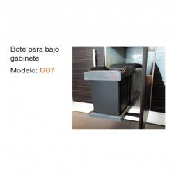 BOTE PARA BAJO GABINETE G07