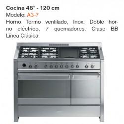 """COCINA 48"""" MODELO A3-7"""