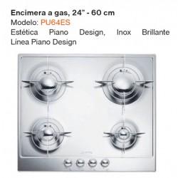 "ENCIMERA A GAS 24"" PU64ES"