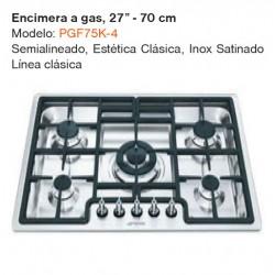 """ENCIMERA A GAS 27"""" PGF75K-4"""