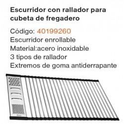 ESCURRIDOR CON RALLADOR 40199260