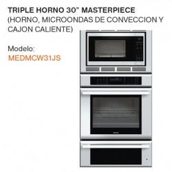 """TRIPLE HORNO 30"""" MEDMCW31JS"""