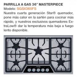 "PARILLA A GAS 36"" SGSX365FS"