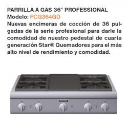 "PARILLA A GAS 36"" PROFESSIONAL PCG364GD"