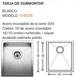 TARJA DE SUBMONTAR MODELO: 516225