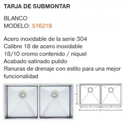 TARJA DE SUBMONTAR MODELO: 516219