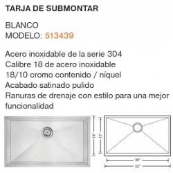 TARJA DE SUBMONTAR: MODELO 513439