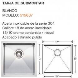 TARJA DE SUBMONTAR MODELO: 515637