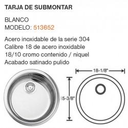 TARJA DE SUBMONTAR MODELO: 513652