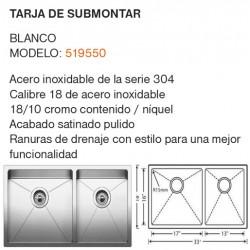 TARJA DE SUBMONTAR MODELO: 519550