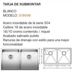 TARJA DE SUBMONTAR MODELO: 519549