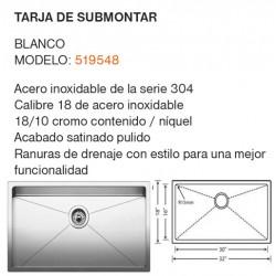 TARJA DE SUBMONTAR MODELO: 519548