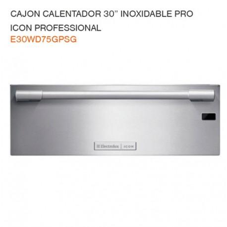 """CAJON CALENTADOR 30"""" E30WD75GPSG"""